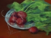Radishes, by Judy Leasure - Smethport, PA