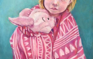 Rebecca Browning - Celia with Piglet
