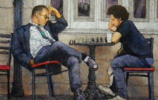 Alan Flattmann - The Chess Players