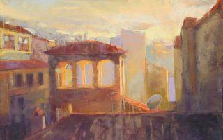 Margaret Larlham - Florence Sunrise