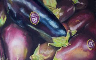 Judy Leasure - Eggplant