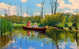 Mary Machenberg - Paddling The Pere Marquette