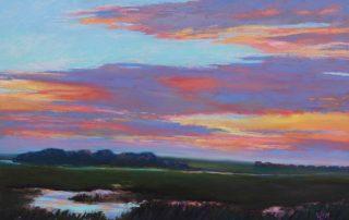 Wendy McClatchy - Sunset Over Avalon Marsh