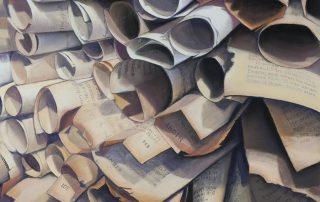 Jacqueline Meyerson - Paper Scrolls