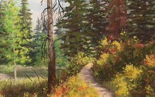 Candace Page - Hike to Jenny Lake