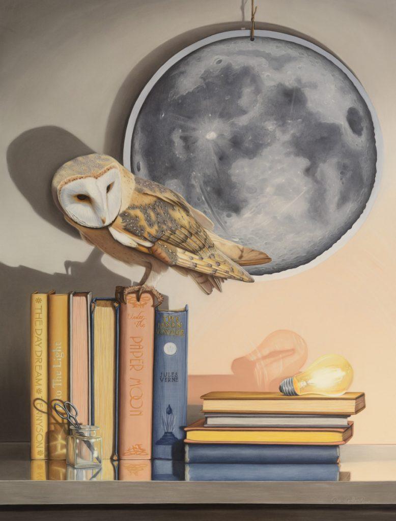 Title: Paper Moon Artist: Deana Goldsmith