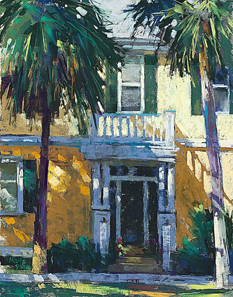 Title: Living in History Artist: Nancy King Mertz Award: New Orleans Art Assoc. Award of Merit