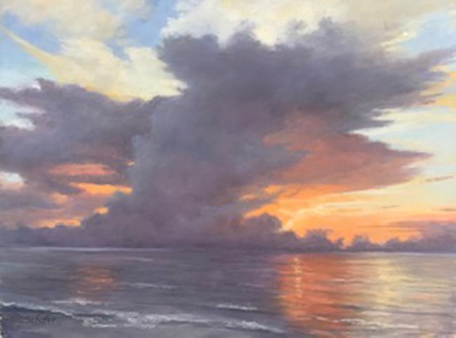 Title: Gulf Sunrise Artist: Glinda Schafer
