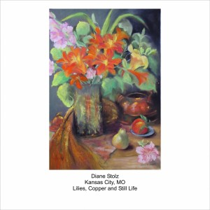 Stolz---Lilies,-Copper-and-Still-Life